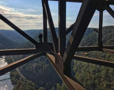 Bridge Day Base Jump
