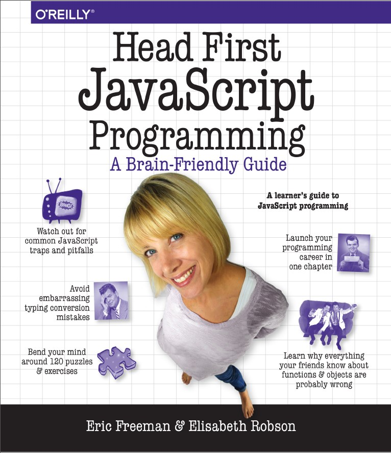 Head First JavaScript Programming Book Cover