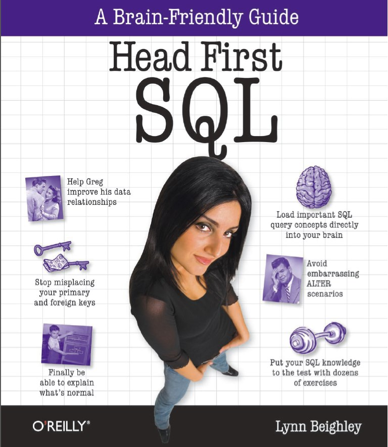 Head First SQL Book Cover
