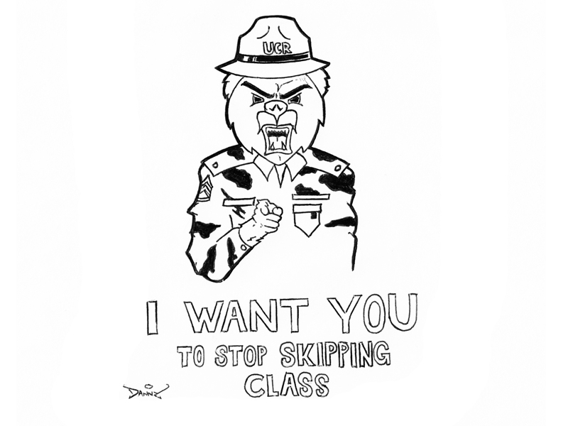 Students who skip class deserve to be called deserters
