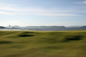 Castle Stuart Golf Links – View over The Moray Firth