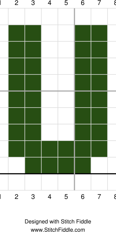 U graph st patricks day wreath crochet