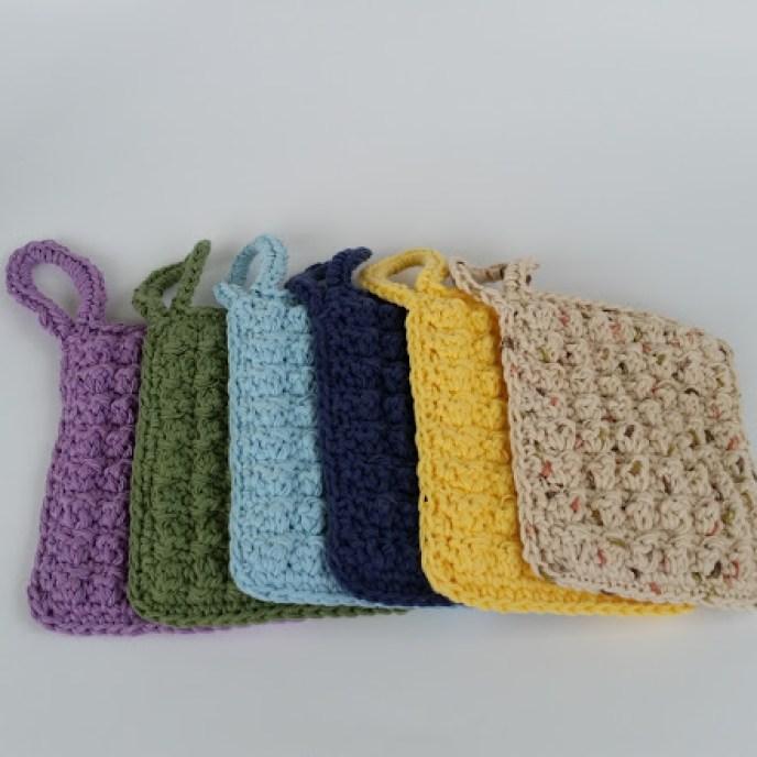jumbo dish scrubbers crochet