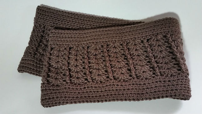 Taupe Infinity Scarf