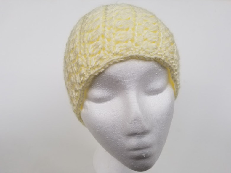 Clusters and Stripes Ear Warmer Headband - Highland Hickory Designs