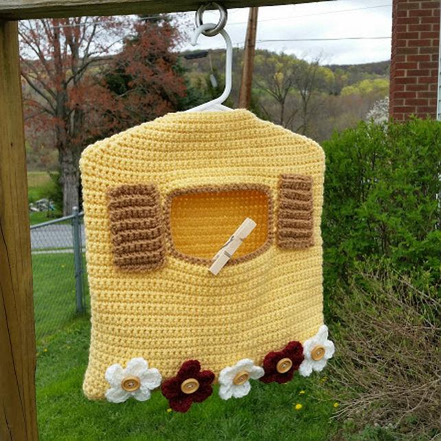 Garden Window Clothespin Bag