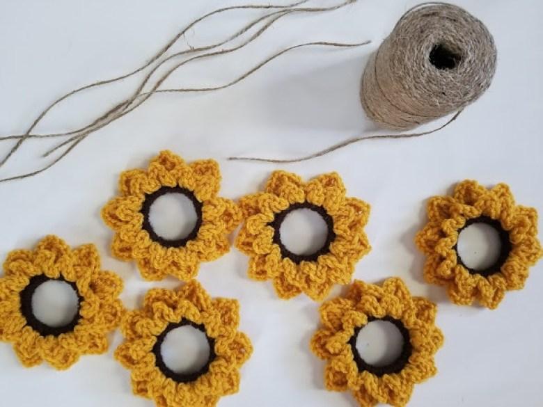 upcycled sunflower