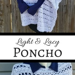 Glad Kitchen Bags Remodel App Light & Lacy Poncho - Highland Hickory Designs