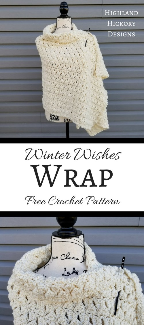 winter wishes wrap