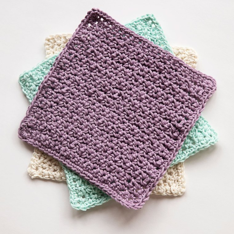 12 Free Washcloth Patterns Highland Hickory Designs Crochet Pattern