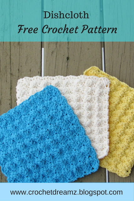 12 Colorful Free Washcloth Patterns Highland Hickory Designs