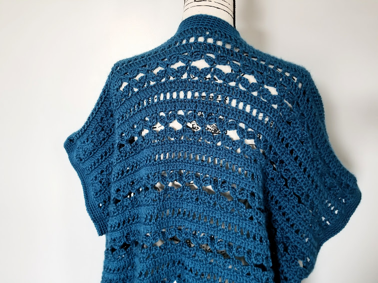 Waters Edge Kimono Free Crochet Pattern Highland Hickory Designs