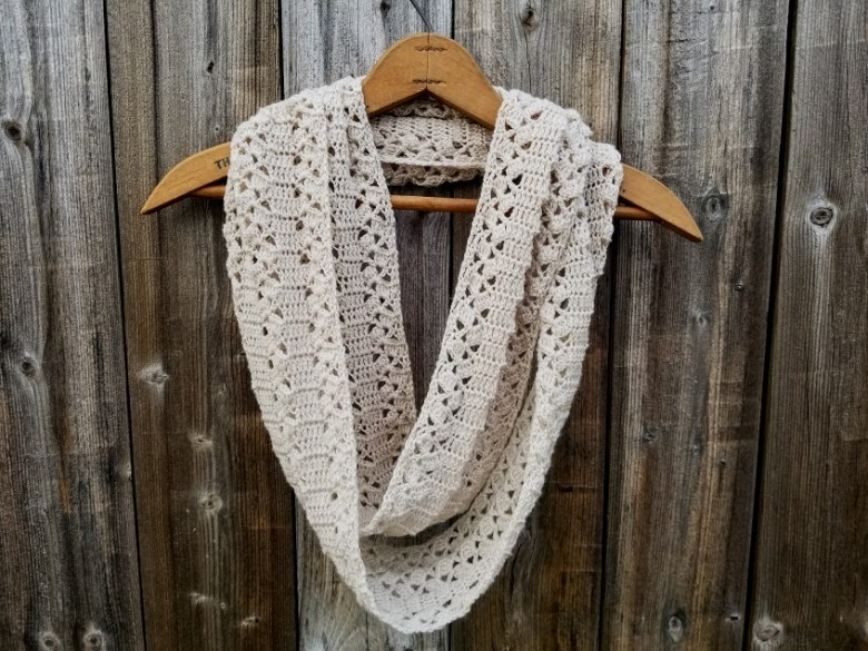 Rustic Lace Scarf Highland Hickory Designs Free Crochet Pattern
