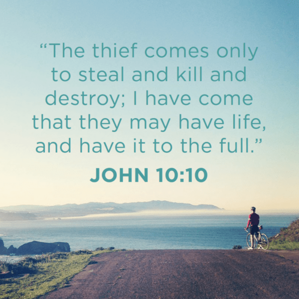 Verse of the Day - John 10:10 KJV - Highland Park Baptist Church
