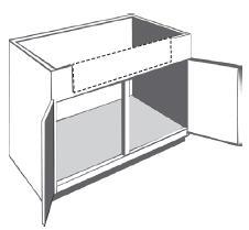 kitchen farm sink base cabinet 30 w x