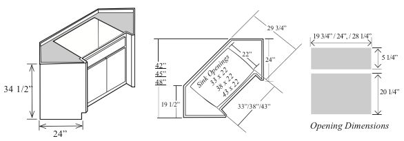 title | Corner Kitchen Sink Dimensions