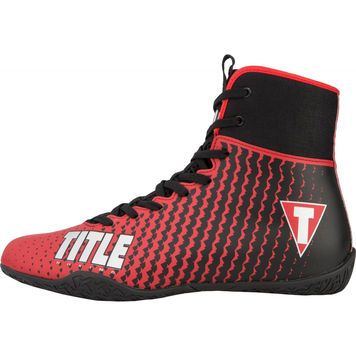 Title Predator II Boxing Shoes - Red
