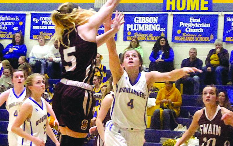 Highlands Splits Basketball Games With Swain The