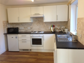 Kitchen Inverbrora Self catering Cottage in Brora