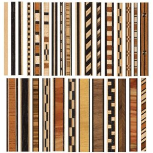Veneer Inlay Strips Pack Of 2