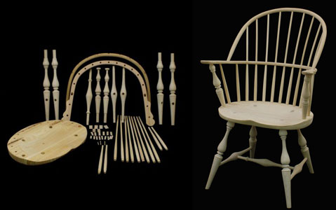 windsor chair kits steel buy sackback kit