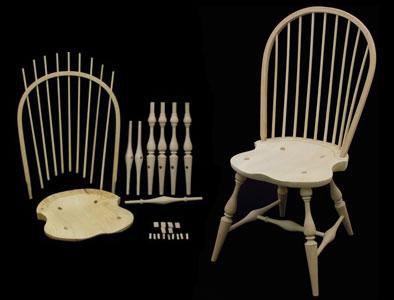 windsor chair kits best inversion bowback side kit 178002