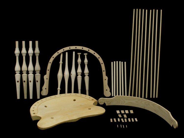 windsor chair kits massage brands new england combback kit 178004