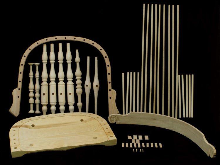 Philadelphia Arm Windsor Chair Kit 178005