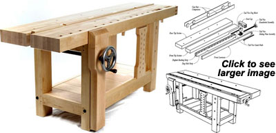Pdf Download Split Top Roubo Workbench Plans Woodworking How To