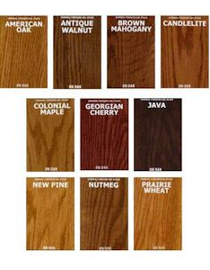 also general finishes oil based gel stains color chart rh highlandwoodworking