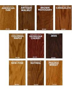 General finishes oil based gel stains color chart also rh highlandwoodworking