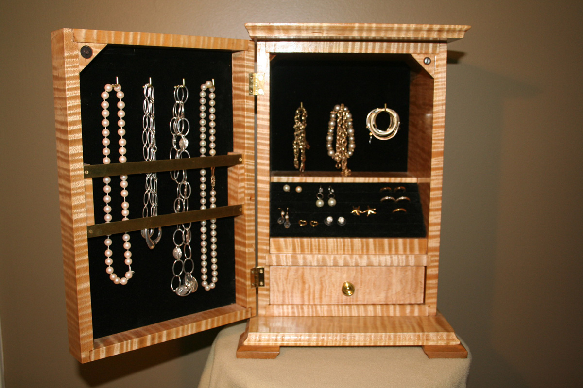 jewellery cabinet plans