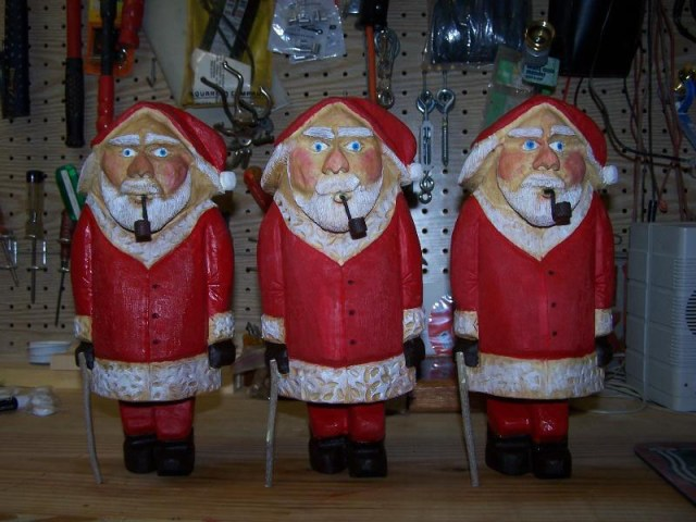 Show Us Your Stuff | Holiday Woodcarvings