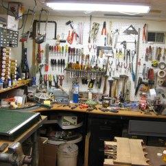 Kitchen Workbench Retro Chairs Woodworking Workshop | Herb Schlobohm