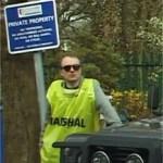 Volunteer marshal at High Legh 10k