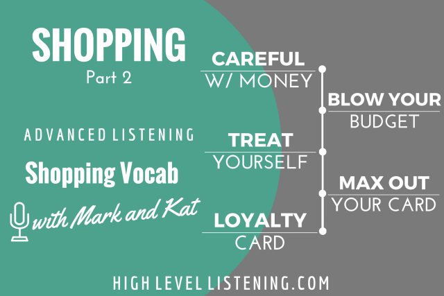 English Listening Practice Shopping Shopping 2