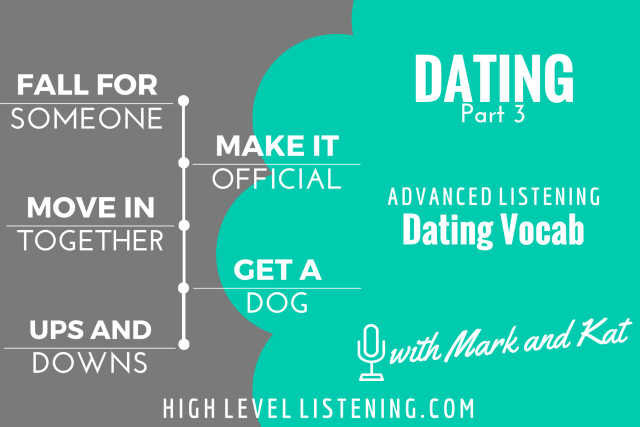 Dating Vocabulary for English Learners 3