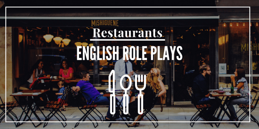 Restaurant Role Play with Listening for English Learners USA UK 4