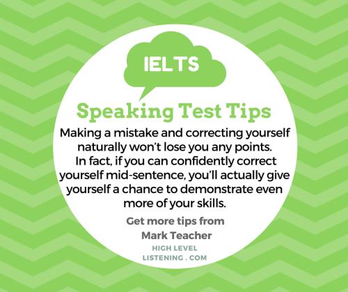 IELTS Speaking Test Tips