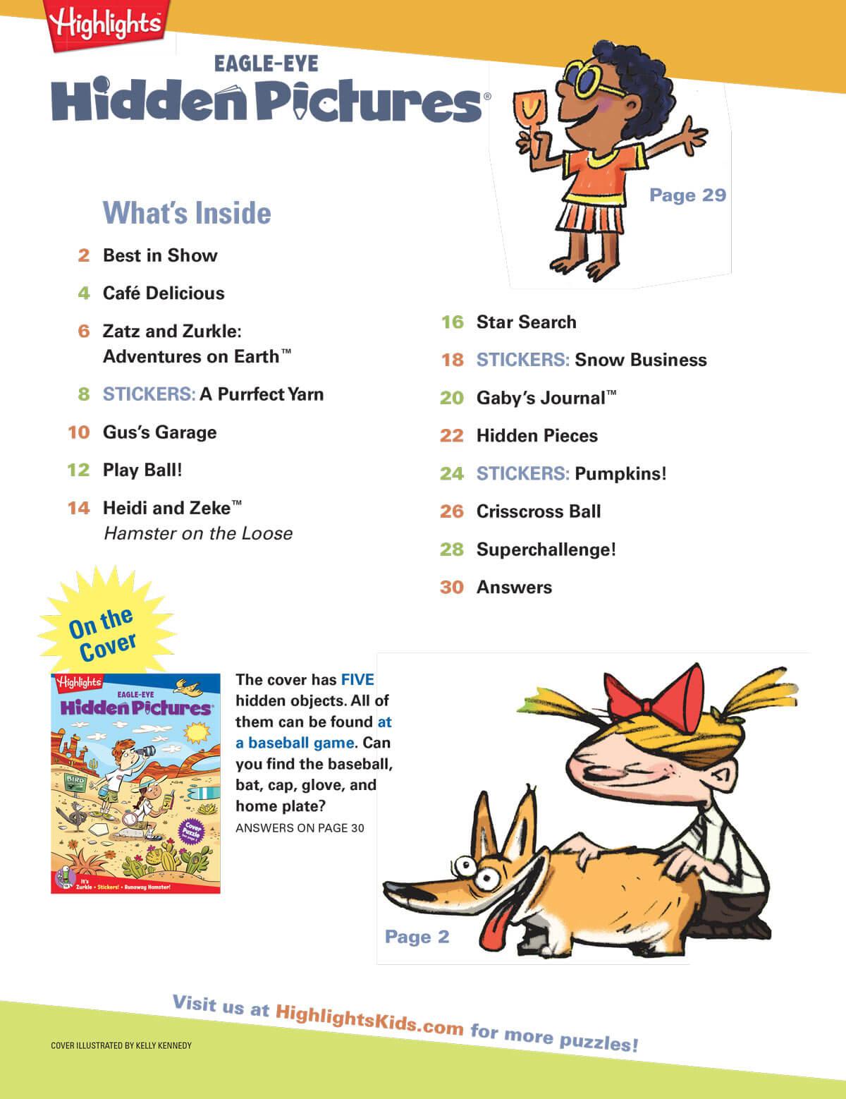 Hidden Pictures For Kids