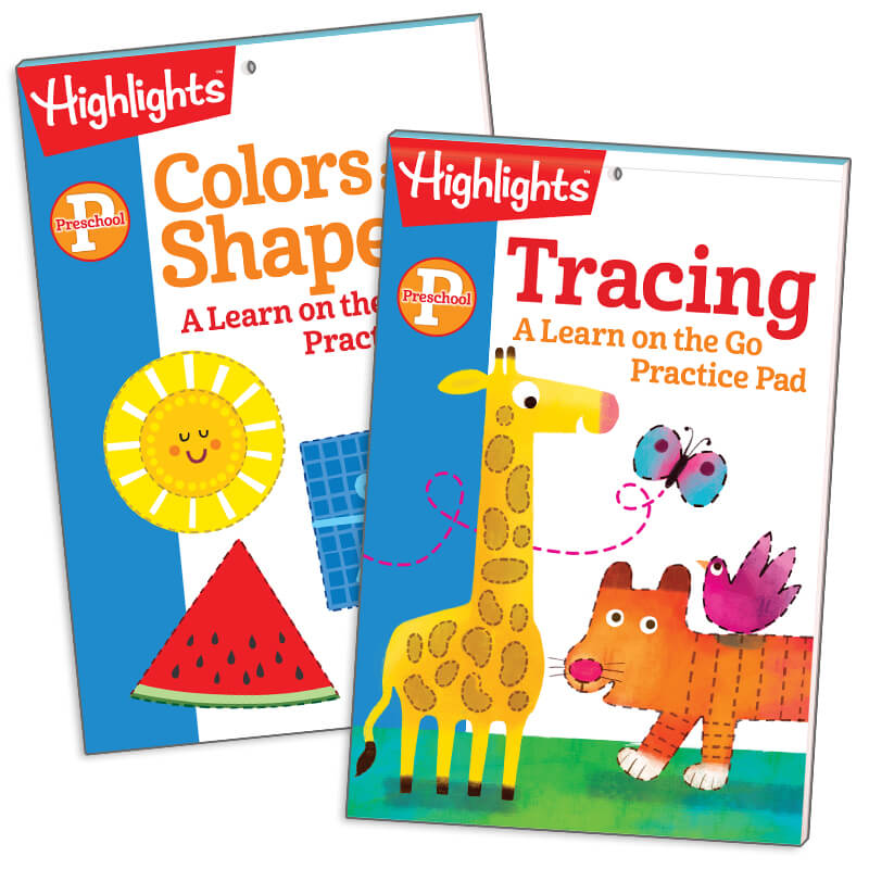 colors and shapes and
