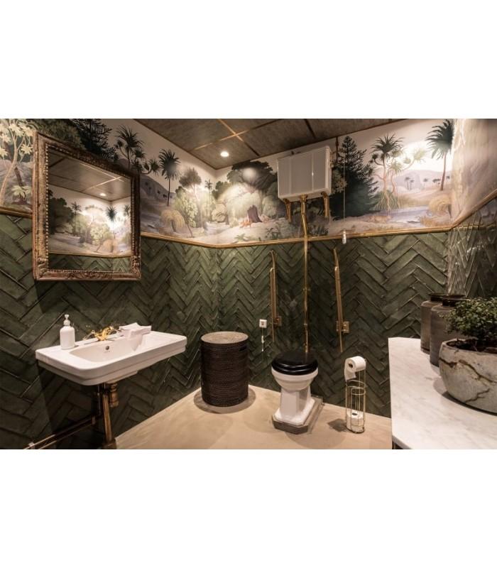 Carta da parati jungle per il bagno. Jungle Land Color Carta Da Parati Rebel Wall