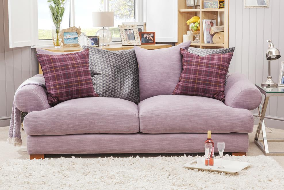 kensington chaise sofa bed orange leather ashley furniture highly sprung sofas london
