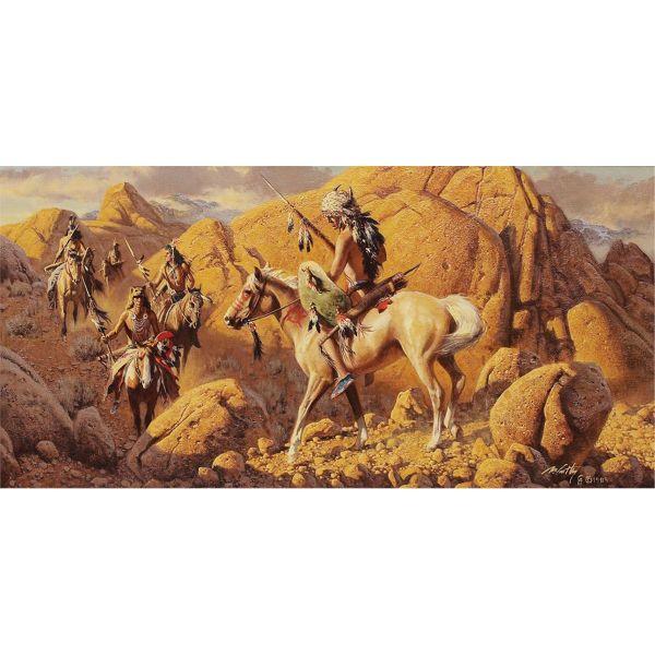 Original Western Art High Noon Auction