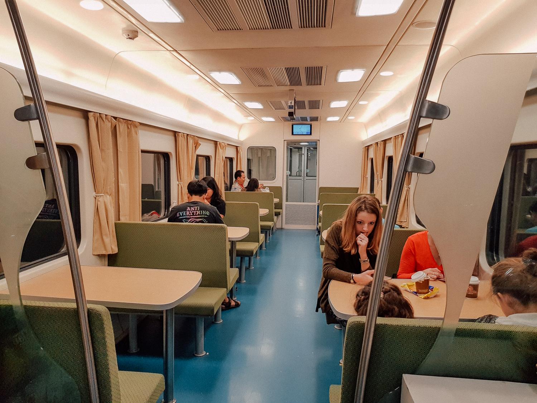 นั่งรถไฟ ไปเชียงดาว เที่ยวคนเดียว