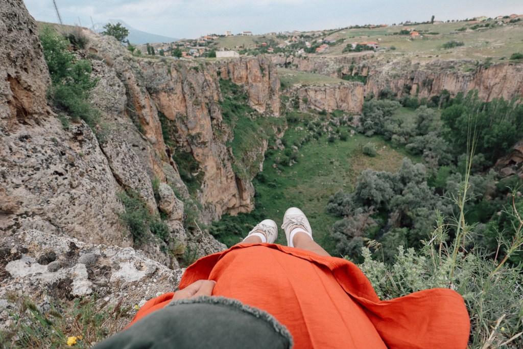 Ihlara valley viewpoint