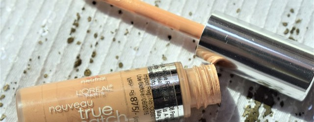 Loreal Paris true match super Blendable concealer NEUTRAL - Fair Light (3)