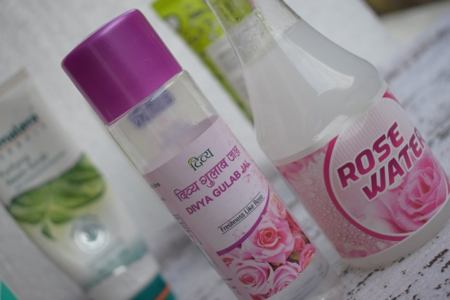 Best Products For Acne Prone Skin - Rose Water
