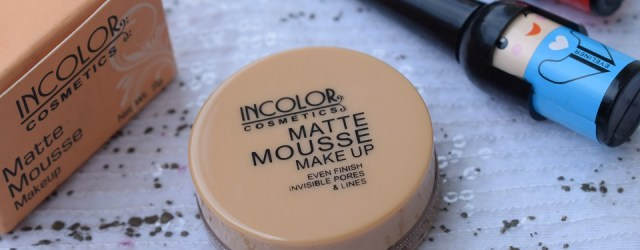 Incolor Matte Mousse Makeup Warm Sand