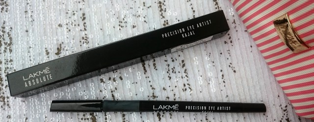 Lakme Absolute Precision Eye Artist Kajal - Ebony Black (3)